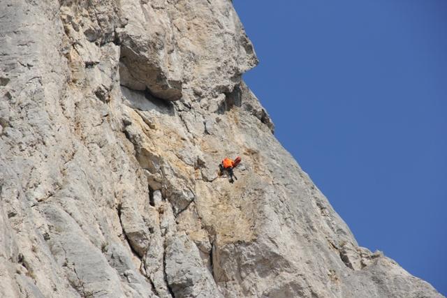 спасработы на  Каланых-кая над бухтой Ласпи