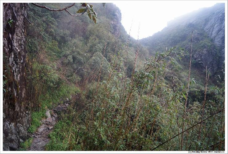 Дорога после перевала 2900