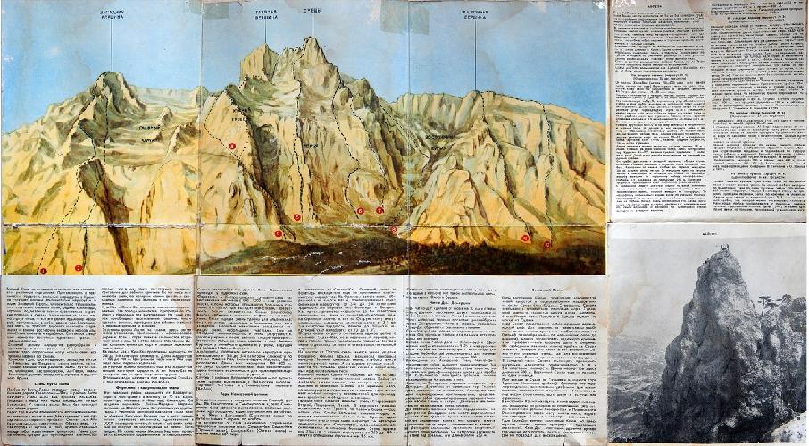Альпийские стены Крыма: Один из первых гайдбуков по альпинистским маршрутам в Крыму.