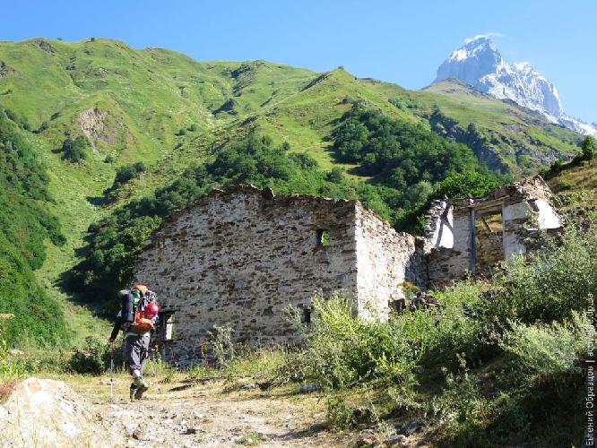 Остатки деревни Гули