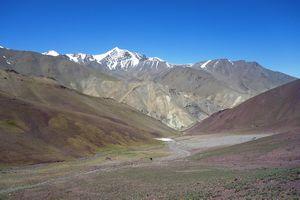 Разноцветные горы Ладакха