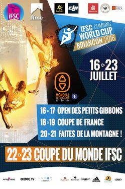 Сегодня во французском Бриансоне стартует этап Кубка Мира по скалолазанию