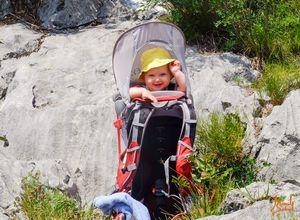 Туристический рюкзак-переноска для детей Osprey: опыт использования в Доломитовых Альпах