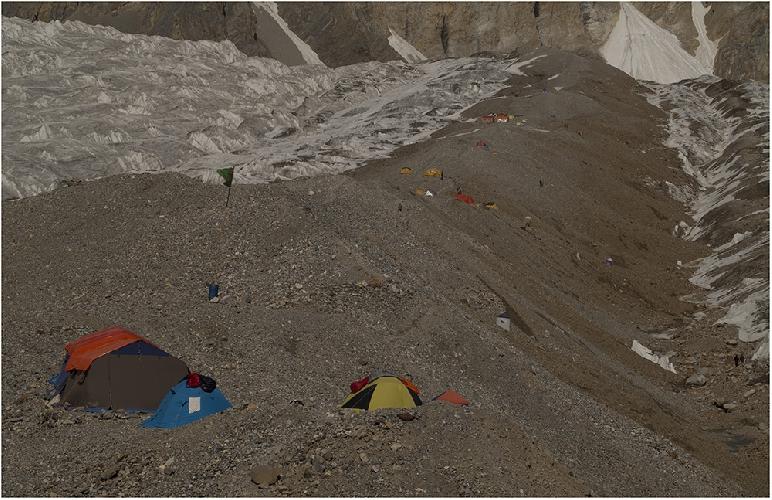 Базовый лагерь у Гашербрума