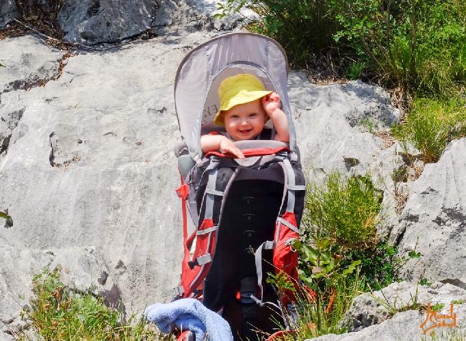 Туристический рюкзак ребенка рюкзаки wolfskin