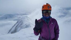 Юная героиня, индийская альпинистка Джаахнави Сриперамбудуру сделала серьезный шаг по пути к «Семи вершинам»