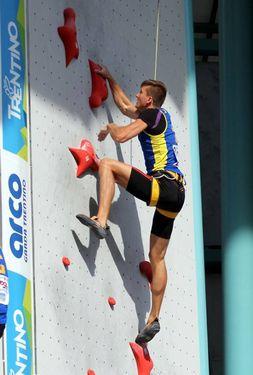 Украинец Даниил Болдырев - серебряный призер этапа Кубок Мира по скалолазанию в Арко!