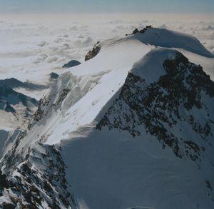 Трое альпинистов погибли при восхождении на вершину Монте-Роза в Швейцарии