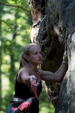 Лена Шурубор - первое женское прохождение маршрута