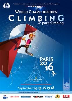 Сегодня в Париже стартует Чемпионат Мира по скалолазанию. В составе Украинской сборной 16 спортсменов!