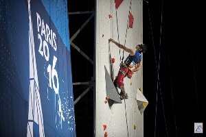 Топишко Сергей вышел в полуфинал Чемпионата Мира по скалолазанию!