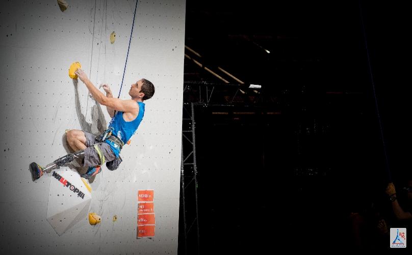 Чемпионат Мира по скалолазанию в Париже 2016. Пара-скалолазание