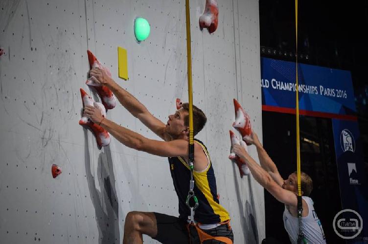 Даниил Болдырев на Чемпионате Мира в Париже
