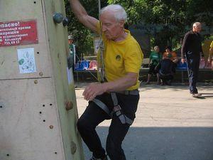 В Одессе завершился Чемпионат Украины по скалолазанию среди ветеранов