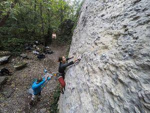 Обычный уик-энд в Каменце – Подольском киевских скалолазов