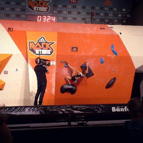 Маргарита Захарова: прохождение четвертой проблемы в финале GORE-TEX Be a Rockstar 2016