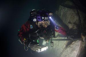 В Чехии обнаружили самую глубокую в мире затопленную пещеру