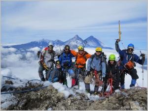 Украинские туристы прошли комбинированный поход длинной 800 км по Камчатке
