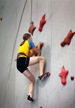 В Одессе подвели итоги сразу двух соревнований по скалолазанию!