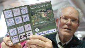 Немецкий пенсионер 8000 раз поднялся на гору Броккен
