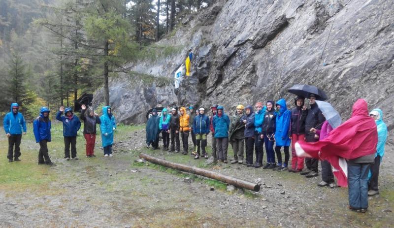 Чемпионат Украины по альпинизму (класс – малые горы)