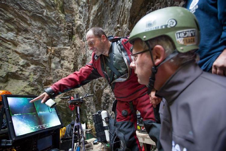 """Открытие пещеры под названием """"Hranická Propast"""""""