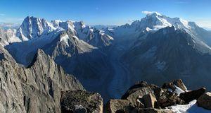 «Клеточный» альпинизм в Шамони