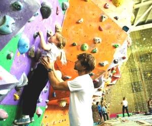 Детское скалолазание с Михаилом Шалагиным: учимся быть сильными
