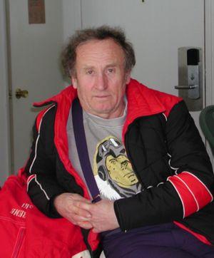 Умер известный харьковский альпинист Виктор Померанцев