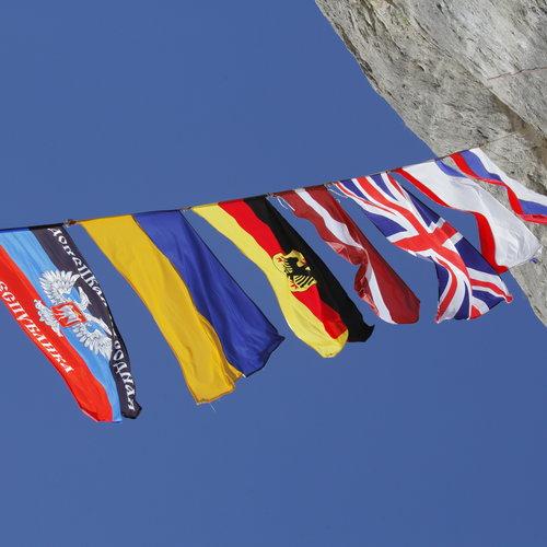 Соревнования по альпинизму в Крыму.