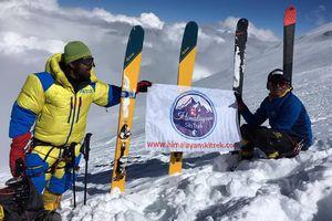 Горные лыжи в Непале: спуск с восьмитысячника Манаслу