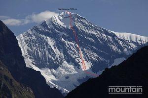 Корейские альпинисты открыли новый маршрут на южной стене непальской горы Гангапурна