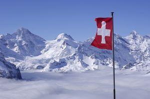 Прошлая зима в Швейцарских Альпах была одной из самых теплых с 1864 года