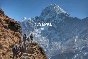 Непал возглавил список мест в рейтинге Lonely Planet, которые стоит посетить в 2017 году
