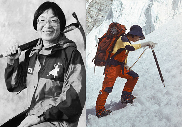 Дзюнко Табэи (Junko Tabei) - миниатюрная но сильная женщина