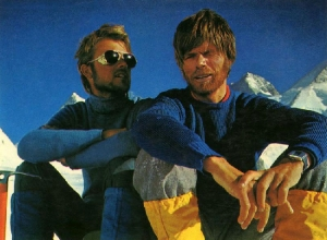 Страницы истории альпинизма: первое безкислородное восхождение на Эверест Петера Хабелера и Райнхольда Месснера в  1978 году