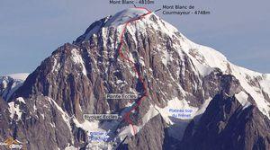 Два альпиниста погибли на Монблане