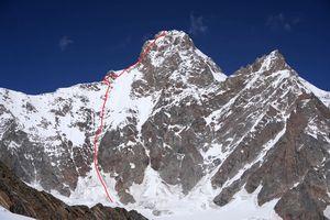 Американские альпинисты открыли новый маршрут на вершину горы Браммах II (Brammah II) В Гималаях