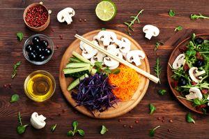 Правила вегетарианской и веганской диет для спортсменов