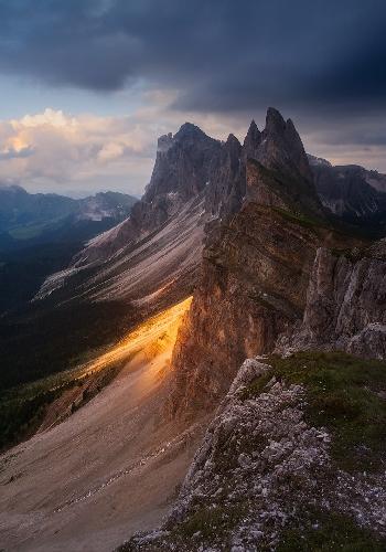 Puez Odle, Dolomites / Горы Одле, Доломитовы Альпы