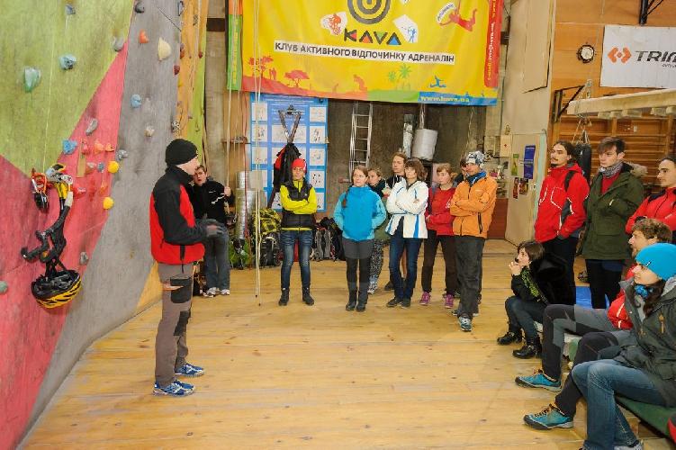 Первый Чемпионат Западной Украины по ледолазанию (драйтулинг).