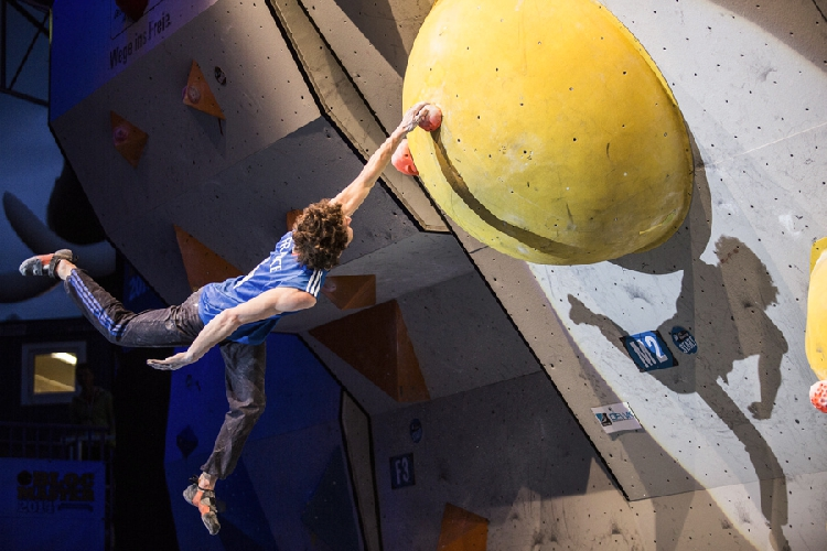 Guillaume Glairon Mondet на этапе Кубка Мира в Инсбруке, 17 мая 2014 года