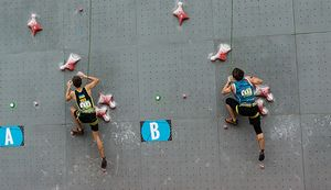 Украинские спортсмены вошли в пятерку сильнейших на молодежном Чемпионате мира по скалолазанию в Китае