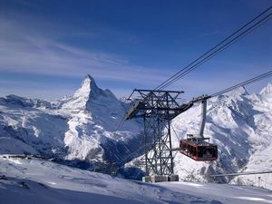 Названы лучшие курорты в Альпах