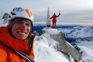 Стеклянная любовь - новый маршрут на швейцарскую вершину Пиц Бадиле