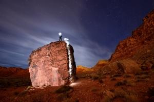 Особенности ночного скалолазания