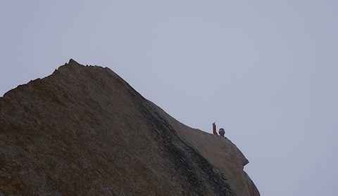 Джеймс Манипенни (James Monypenny) на вершине Сычуань