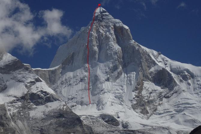 Талай Сагар (Thalay Sagar) (6904 м) по контрфорсу Северной стены<br>«Праздник, который всегда с тобой (Moveable Feast)»