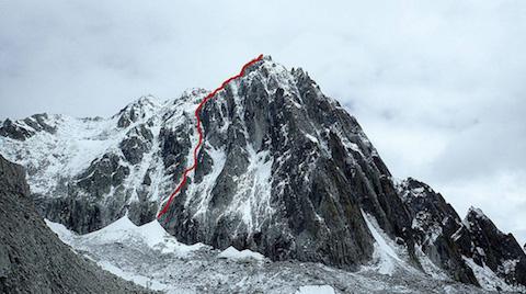 """Новый маршрут """"Yak Attack"""" на вершину Хутса (Hutsa) высотой 5863"""
