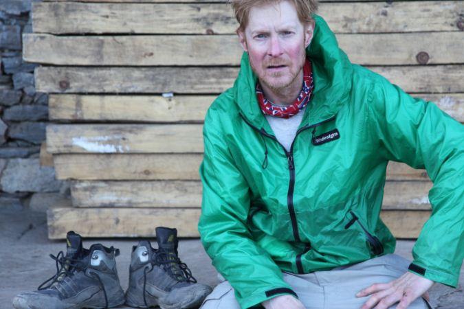Шон Барч (Sean Burch) в завершении своей экспедиции в Непале